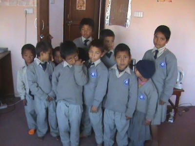 Orphanage students thet WNSO Nepal assisted